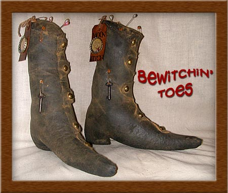 Bewitchin' Toes-toes, boots, Bewitchin' Toes, witch shoes,