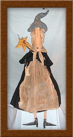 Blanche-witch, Blanche, primitive, muslin