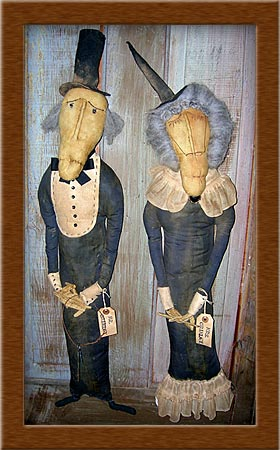 The Grimley's-caretakers, primitive, Halloweem grimley, ghosts, ghouls,