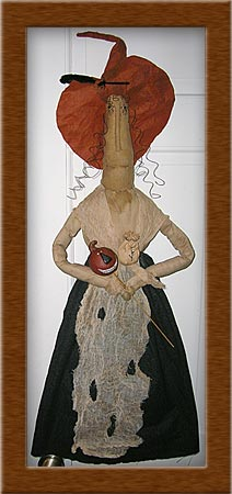 Winifred Goodkind-witch, winifred goodkind, primitive, cheesecloth, muslin