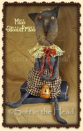 Miss Sasslefrass Cat-