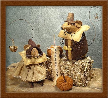 Pilgrim Mice-