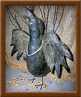 Aristotle the Raven-raven, Aristotle, crow, harvest, soft sculpture, bird,