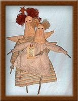 Flying Lessons-angel, flying, muslin, primitive, Flying Lessons, whimsy,