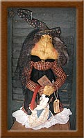 Hermione Goodbrew-witch. Hermione Goodbrew, muslin, primitive,