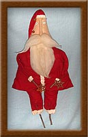 Jimmy!-Jimmy, Santa, Vermont, holidays, Christmas, muslin, yuletide spirit