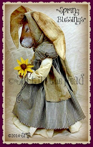 Spring Blessings Bunny-